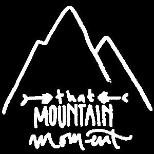 Berg und Schriftzug